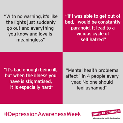 depression awareness week